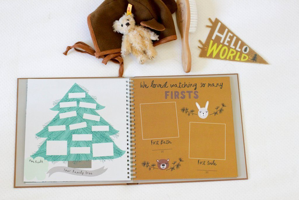 Little Camper Memory Book - Project Nursery