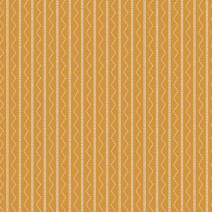 Rick Rack Stripe - Gold Aztec - Project Nursery