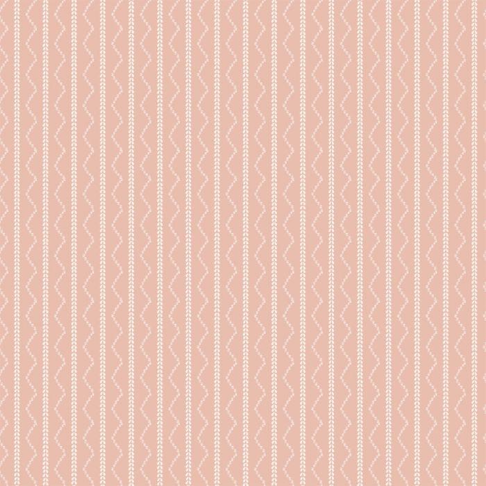 Rick Rack Stripe - Pink - Project Nursery