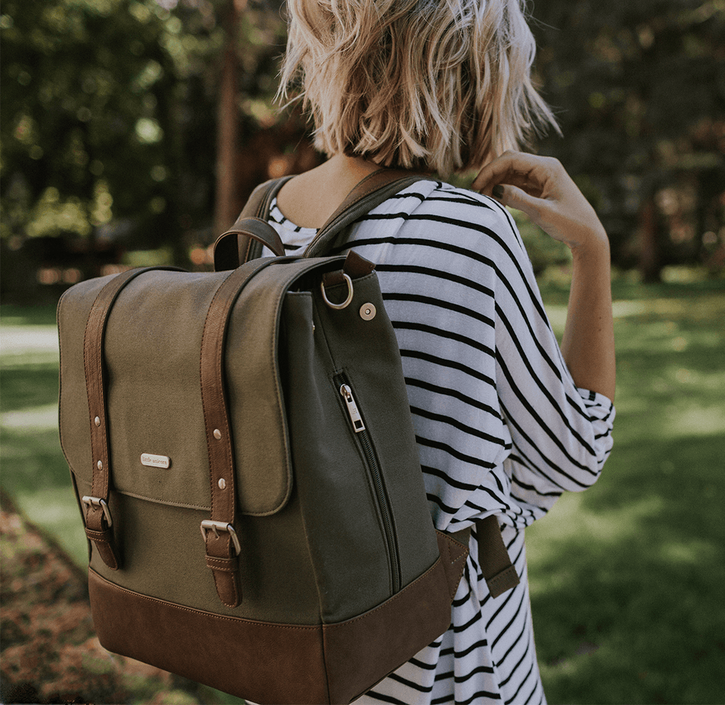 Marindale Backpack Olive - The Project Nursery Shop - 1