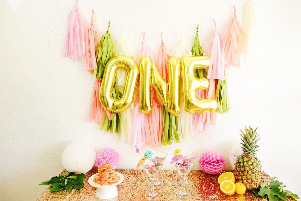 One Mylar Banner  - The Project Nursery Shop - 5