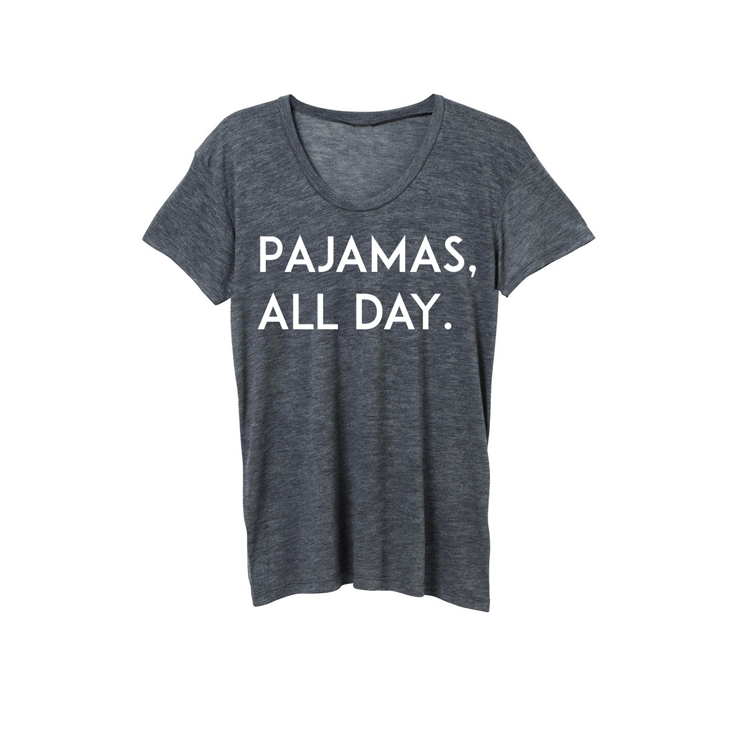 Pajamas All Day Tee - Project Nursery