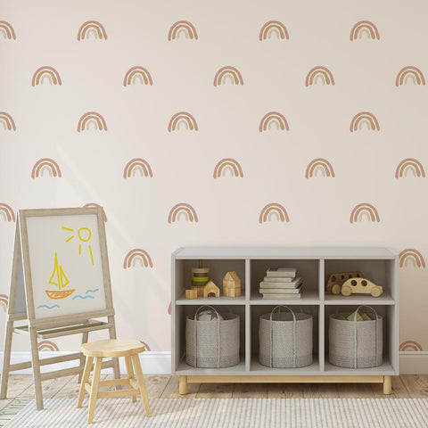 Abstract U-Shaped Wall Decals