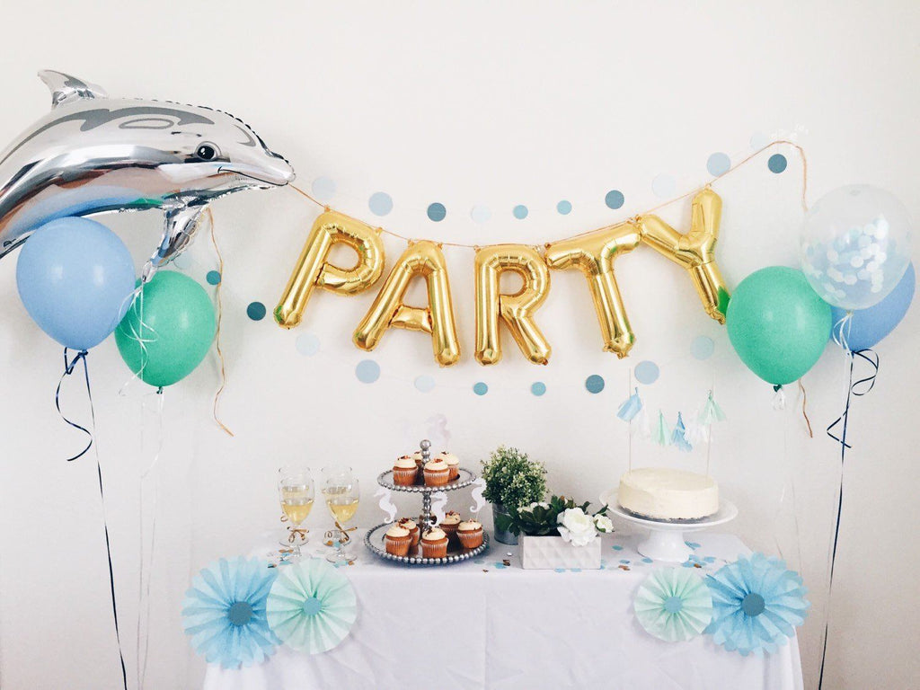 Party Mylar Banner  - The Project Nursery Shop - 2