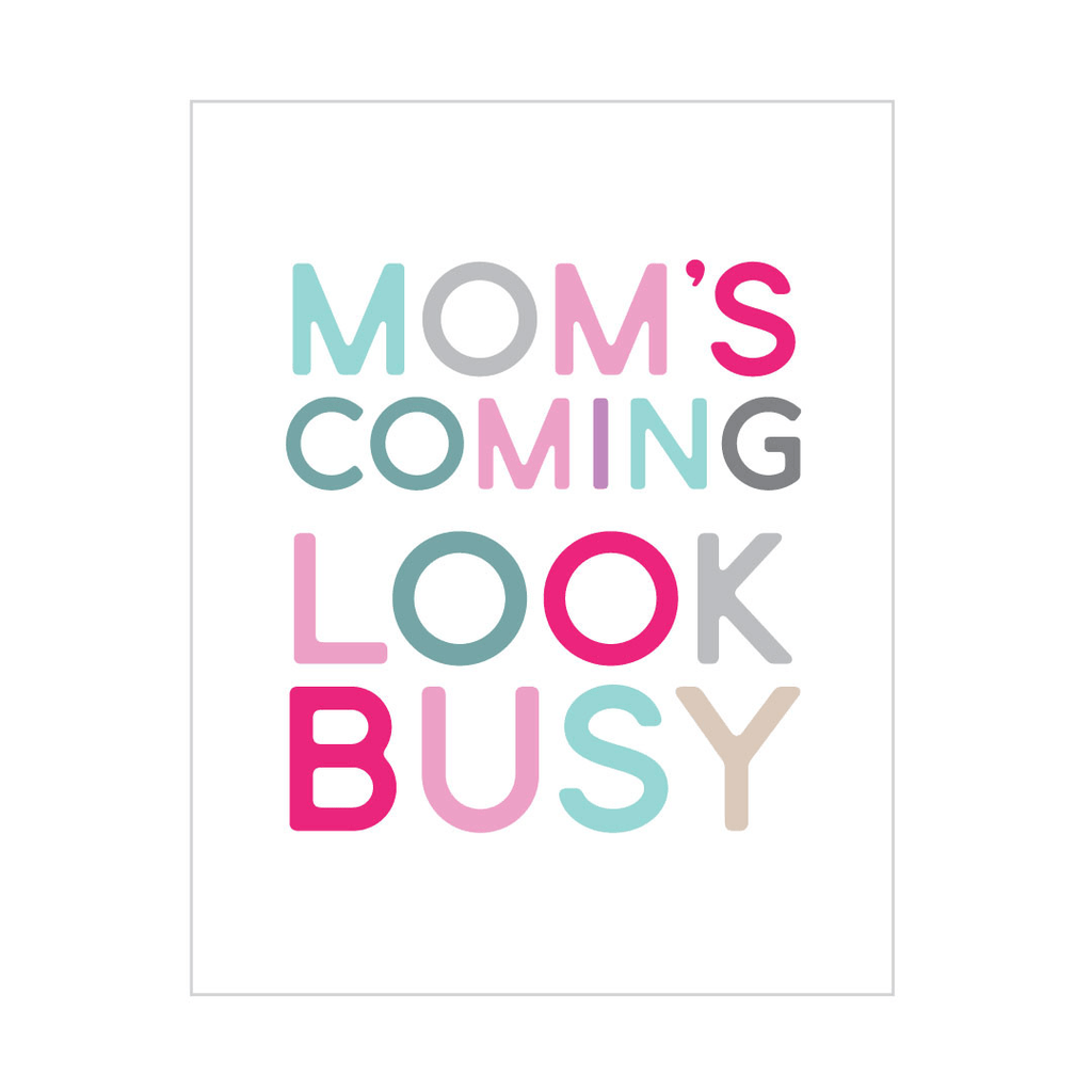Look Busy Peel & Stick Poster Pastel - The Project Nursery Shop - 2