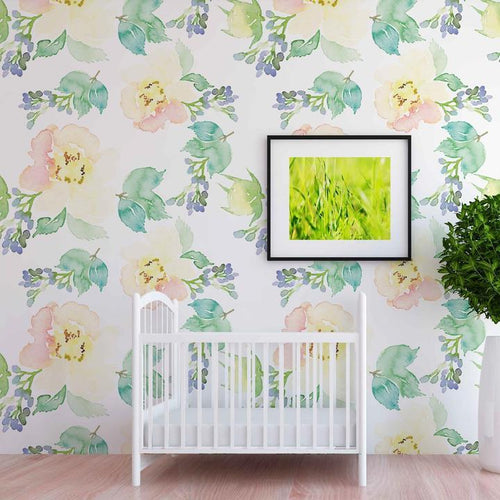 Allison Wallpaper - Project Nursery
