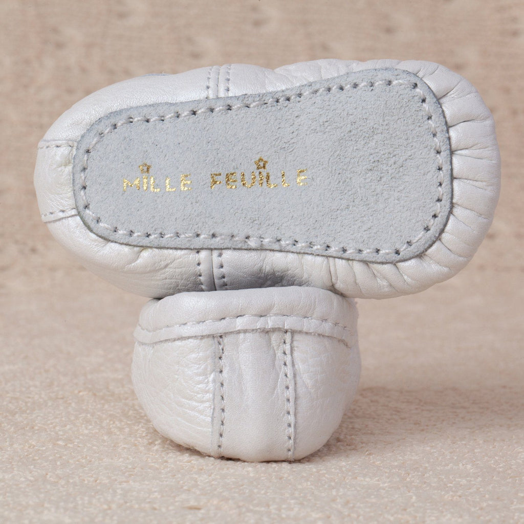 Pearl Baby Ballet Slippers  - The Project Nursery Shop - 2