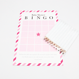 Baby Shower Bingo in Candy Stripe  - The Project Nursery Shop - 2