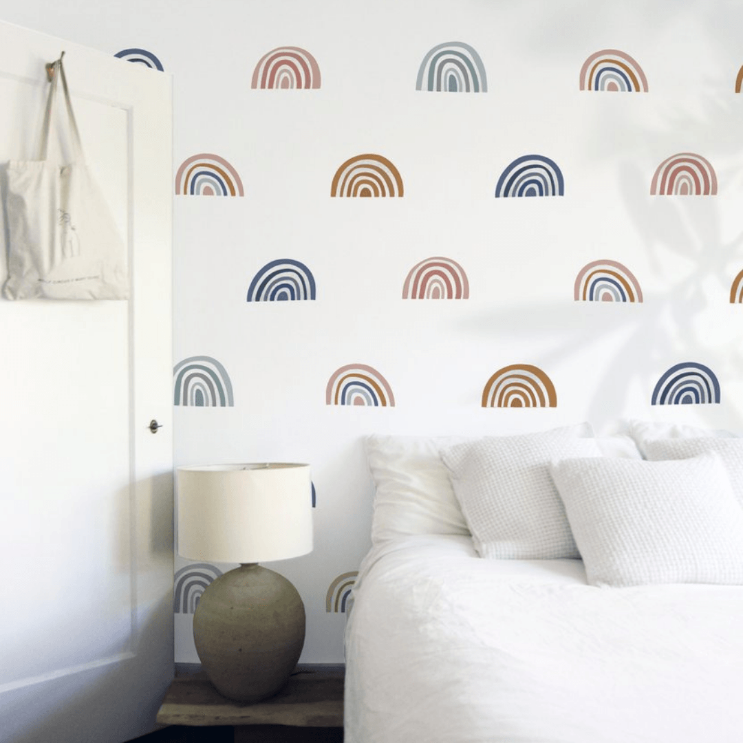 Mini Ombre Rainbow Decals - Project Nursery