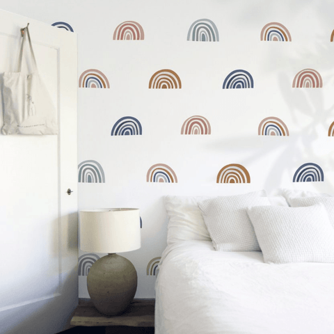 Triangle Wall Decals - Multiple Colors