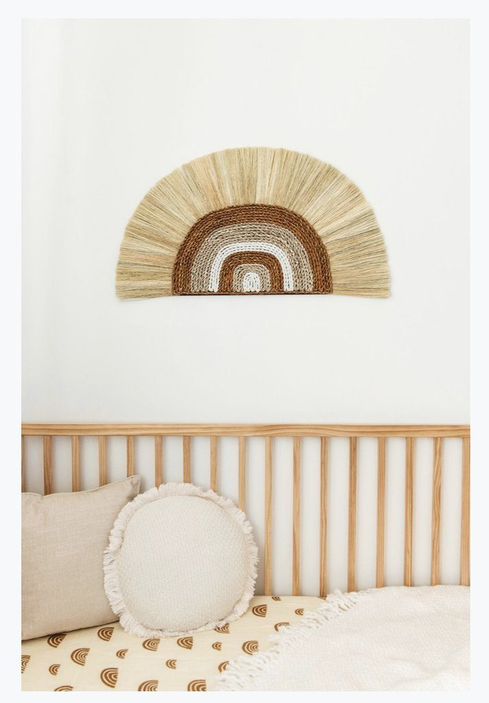 Rainbow Wall Hanging - Bronze - Project Nursery