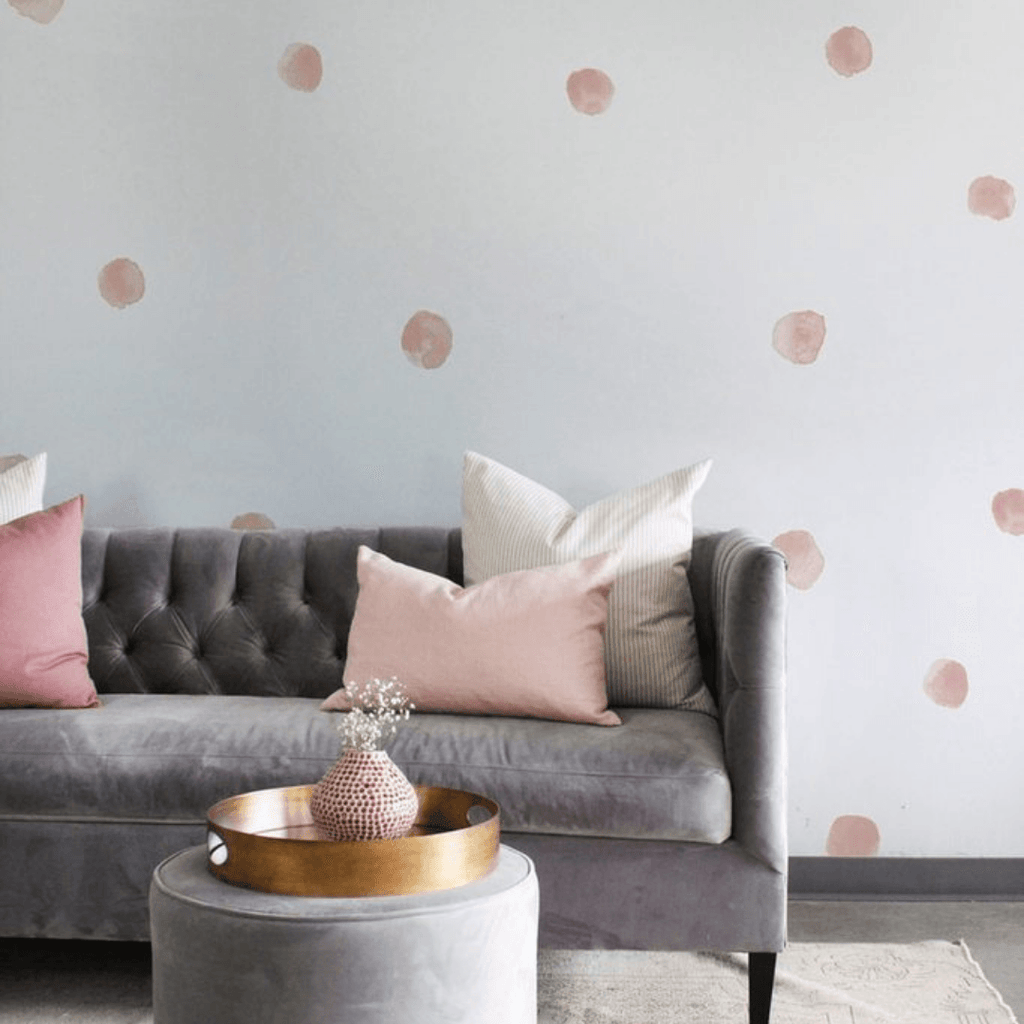 Watercolor Raindrop Wall Decals - Project Nursery