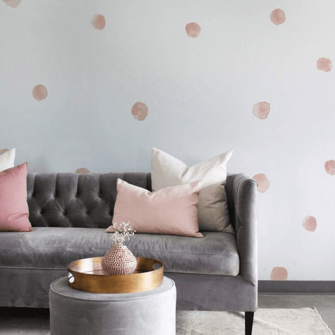 Geometric X-Shaped Wall Decals