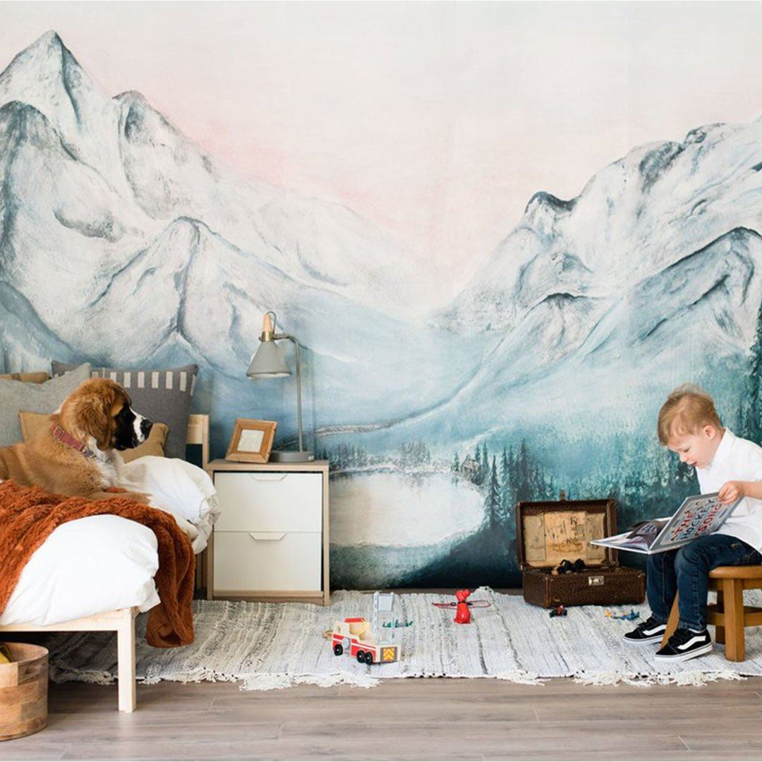 Rainier Wallpaper Mural - Project Nursery