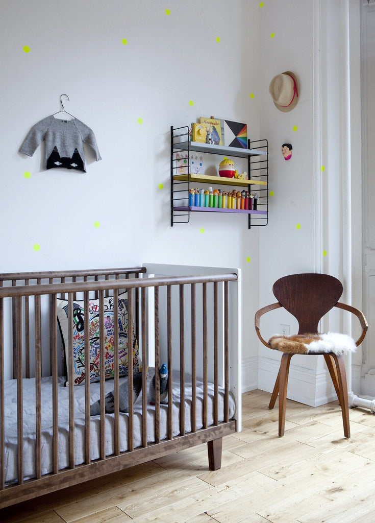 Rhea Crib in Walnut  - The Project Nursery Shop - 3
