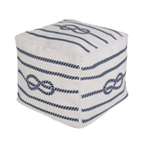 Nautical Rope Pouf  - The Project Nursery Shop