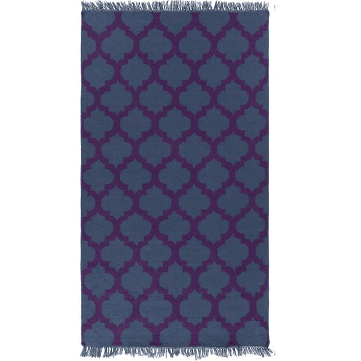 Lagoon Rug 5' X 8' / Purple - The Project Nursery Shop - 7