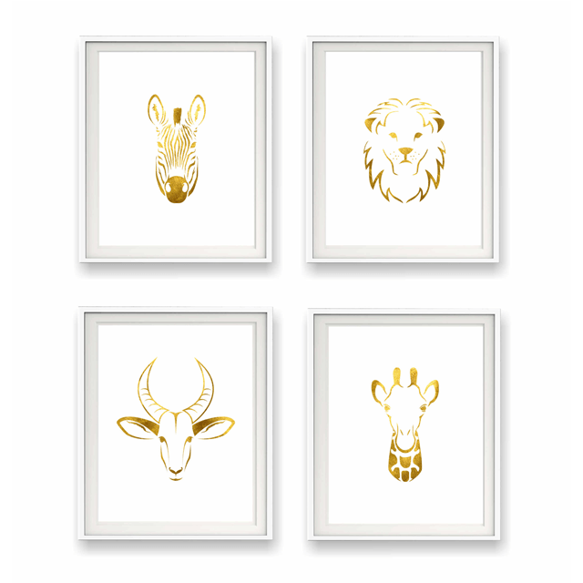 Safari Animal Print Collection 5X7 - The Project Nursery Shop - 1