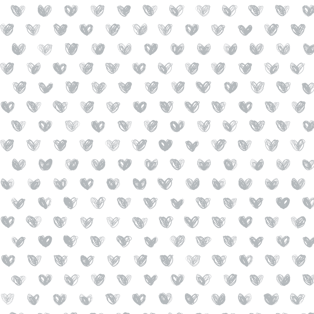 Love Wallpaper Roll / Silver - The Project Nursery Shop - 5