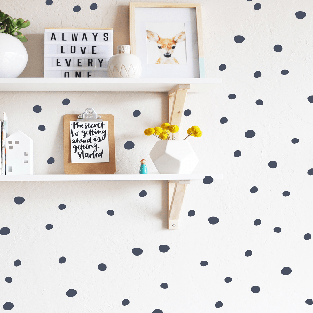 Tiny Hand Drawn Dots - Project Nursery