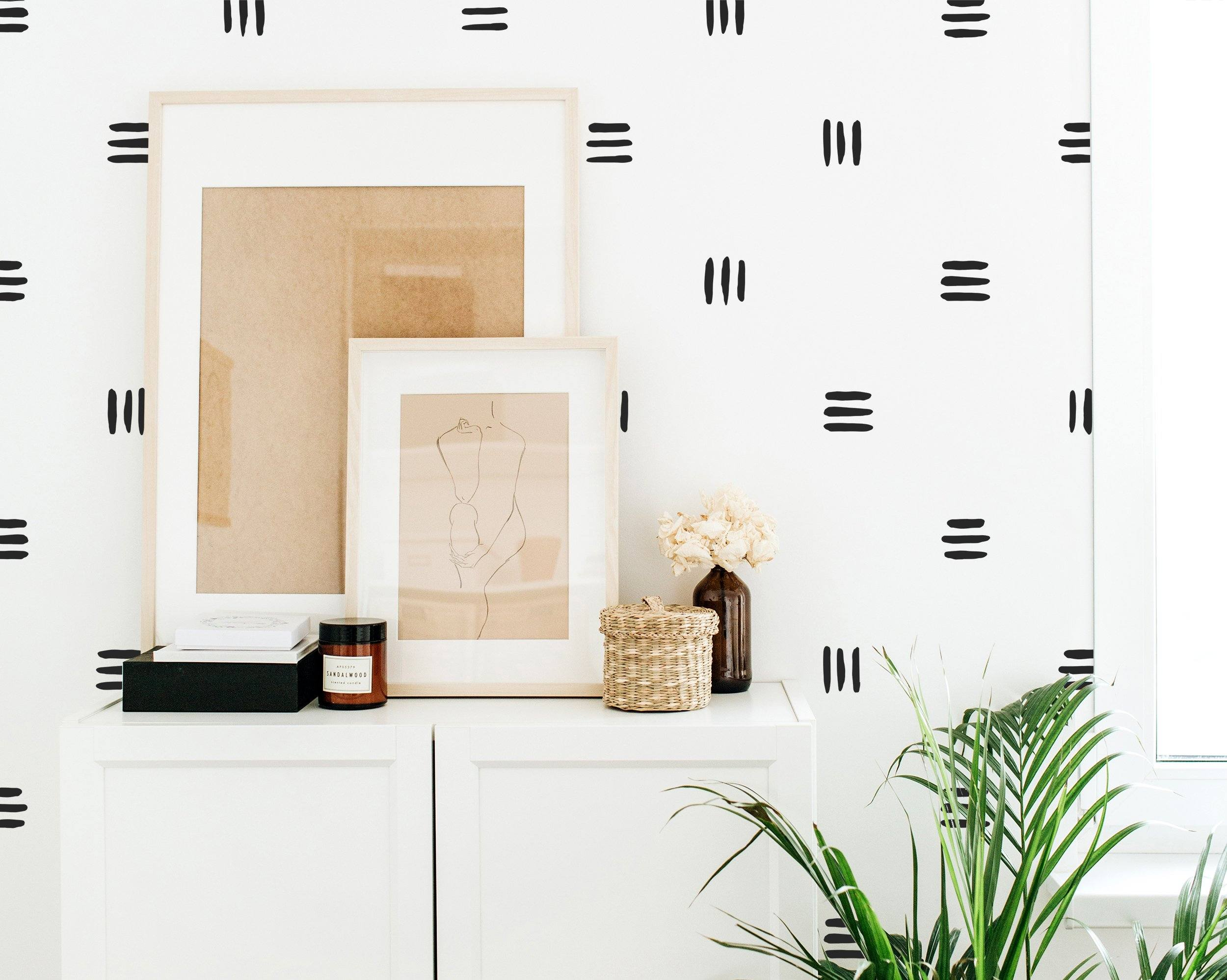 Small Line Wall Decals - Project Nursery