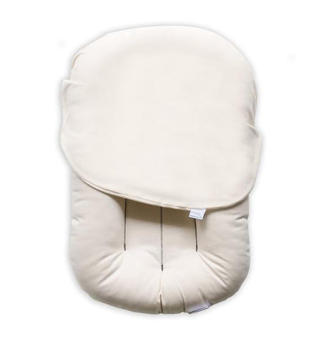 Cotton Muslin Car Seat Canopy - Fox