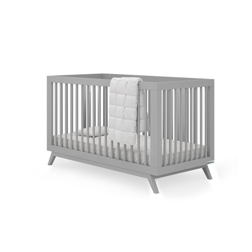 Soho 2-in-1 Convertible Crib - Grey - Project Nursery
