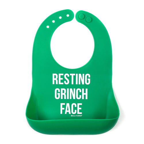 Grinch Face Wonder Bib - Project Nursery