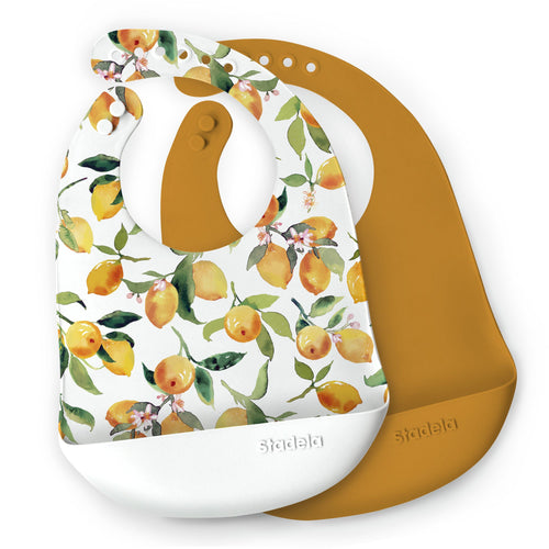 Citrus Silicone Bib Set - Project Nursery