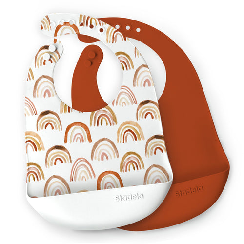 Ray Silicone Bib Set - Project Nursery