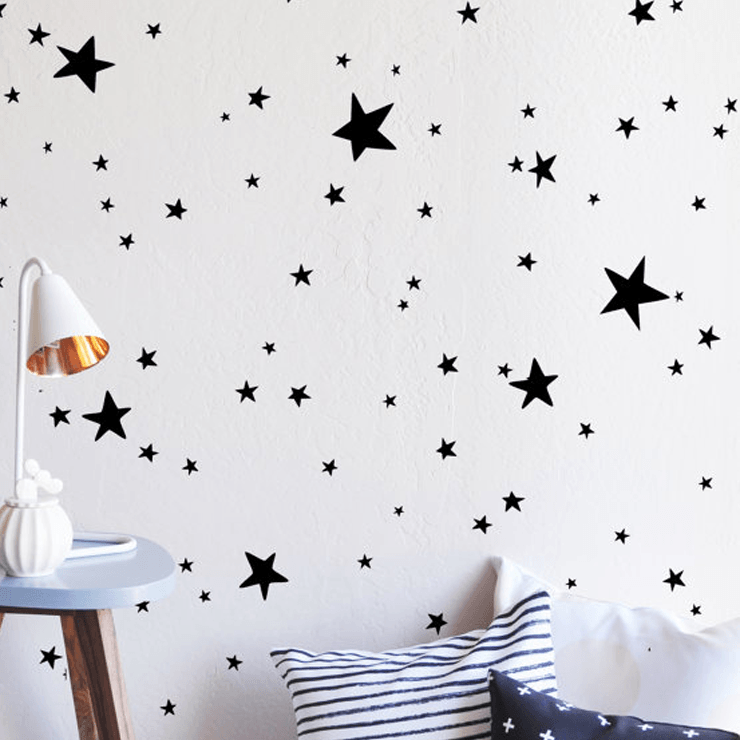 scattered stars wall decal – project nursery