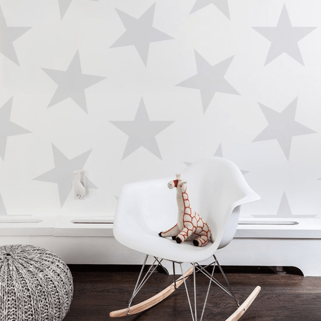 Lucky Star Wallpaper - Project Nursery
