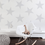 Lucky Star Wallpaper Rain Roll - The Project Nursery Shop - 3