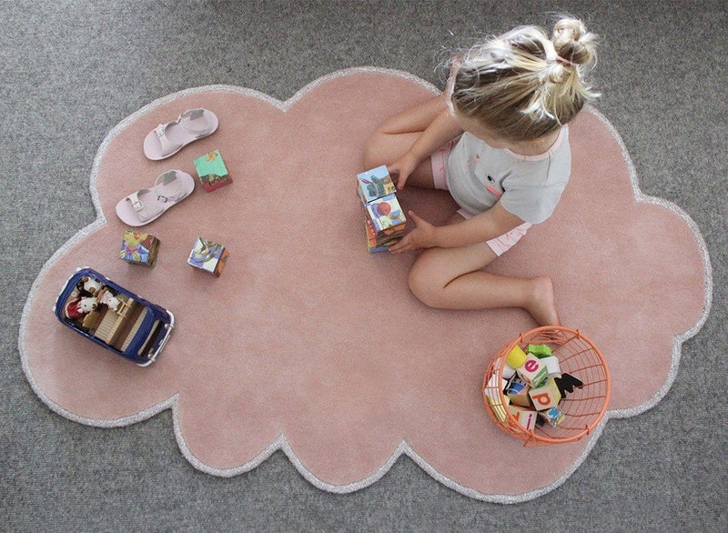 Silver Lining Cloud Rug - Project Nursery