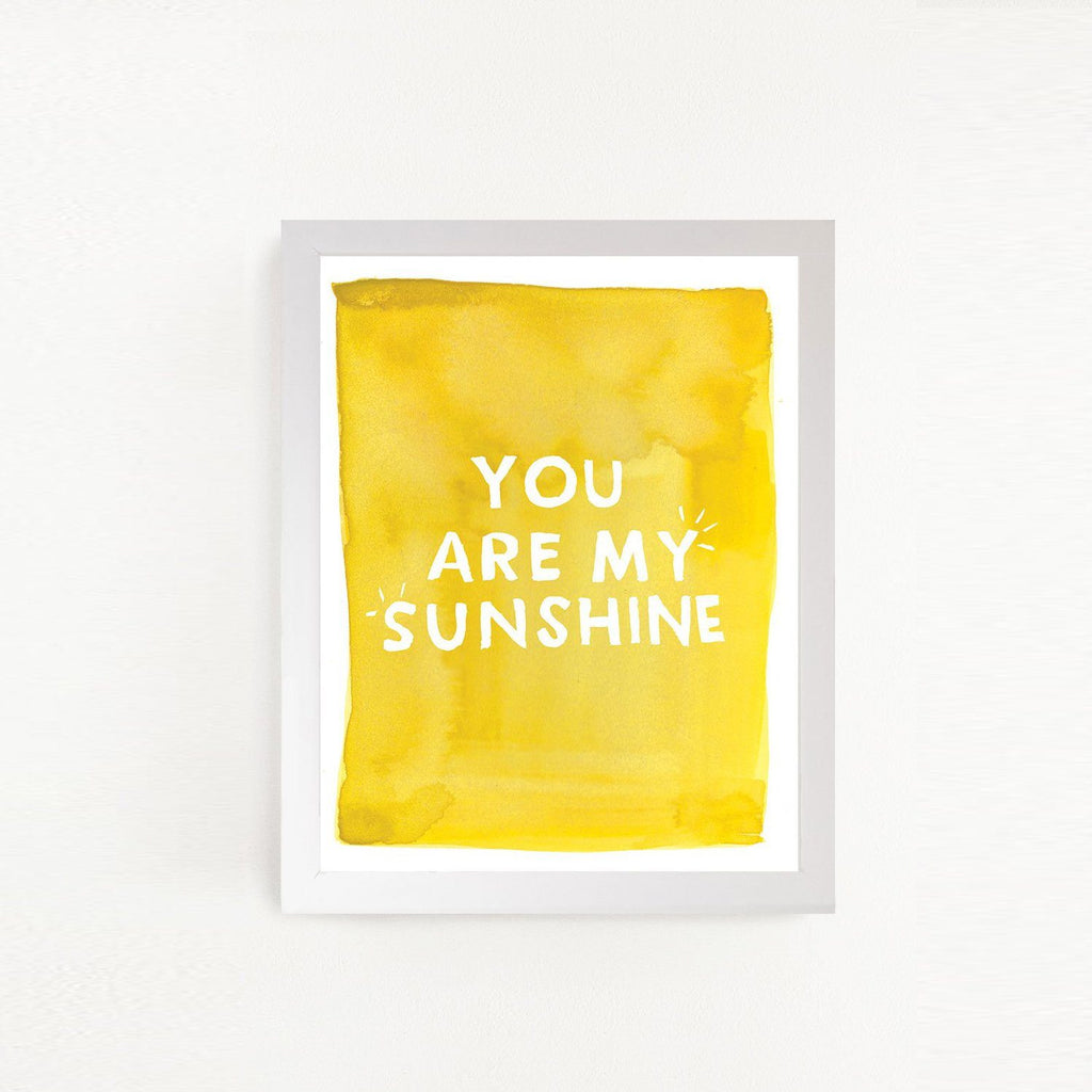 You are My Sunshine Art Print - Project Nursery