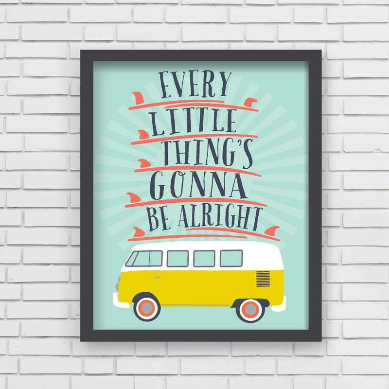Lil' Surfer Art Print  - The Project Nursery Shop - 2