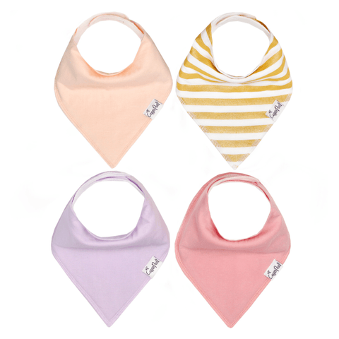 Stripes Away Bib Set - Sea