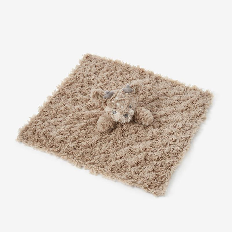 Fawn Swirl Lion Baby Security Blanket - Project Nursery