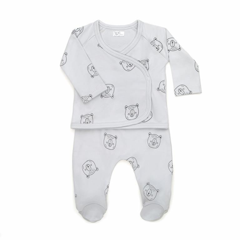Bears Kimono Layette Set - Project Nursery