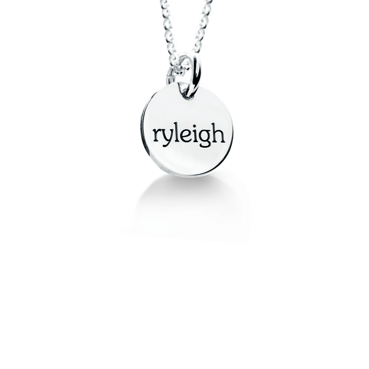Elle 1 Tag Necklace  - The Project Nursery Shop - 1