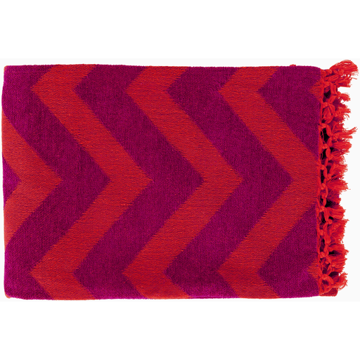 Thacker Throw Tangerine - The Project Nursery Shop - 5