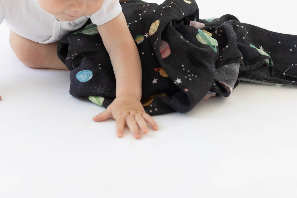 Planets Swaddle Blanket - Project Nursery