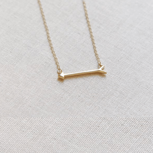 Tiny Arrow Necklace - Project Nursery