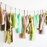 Mint Julep Tassel Garland  - The Project Nursery Shop - 2