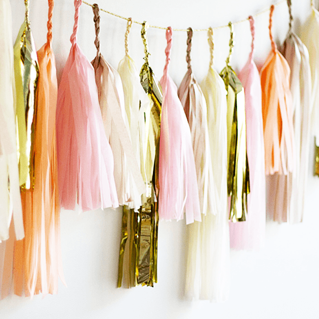Bellini Tassel Garland  - The Project Nursery Shop - 2