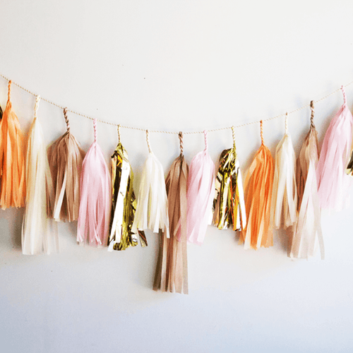 Bellini Tassel Garland - Project Nursery