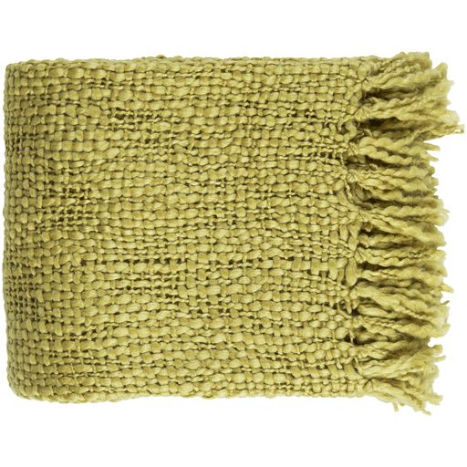 Tobias Throw Mustard - The Project Nursery Shop - 4