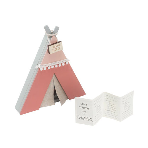 Tooth Fairy Wooden TeePee - Pink - Project Nursery
