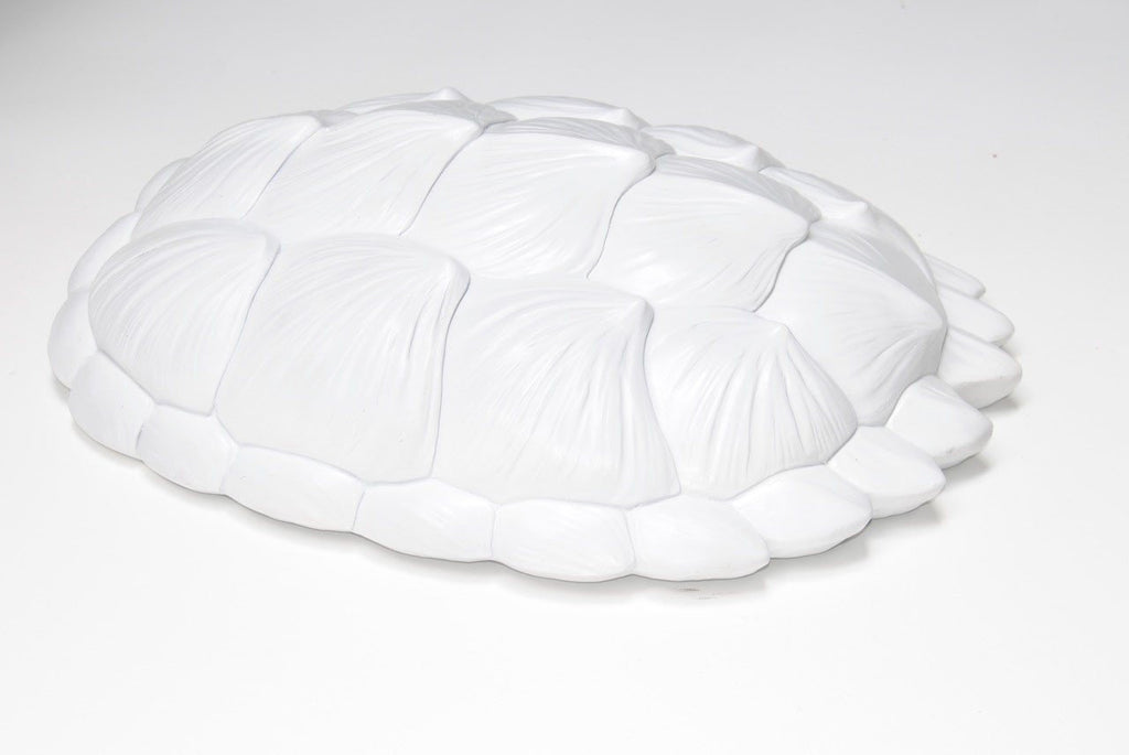 Tortoise Wall Sculpture in White  - The Project Nursery Shop - 2