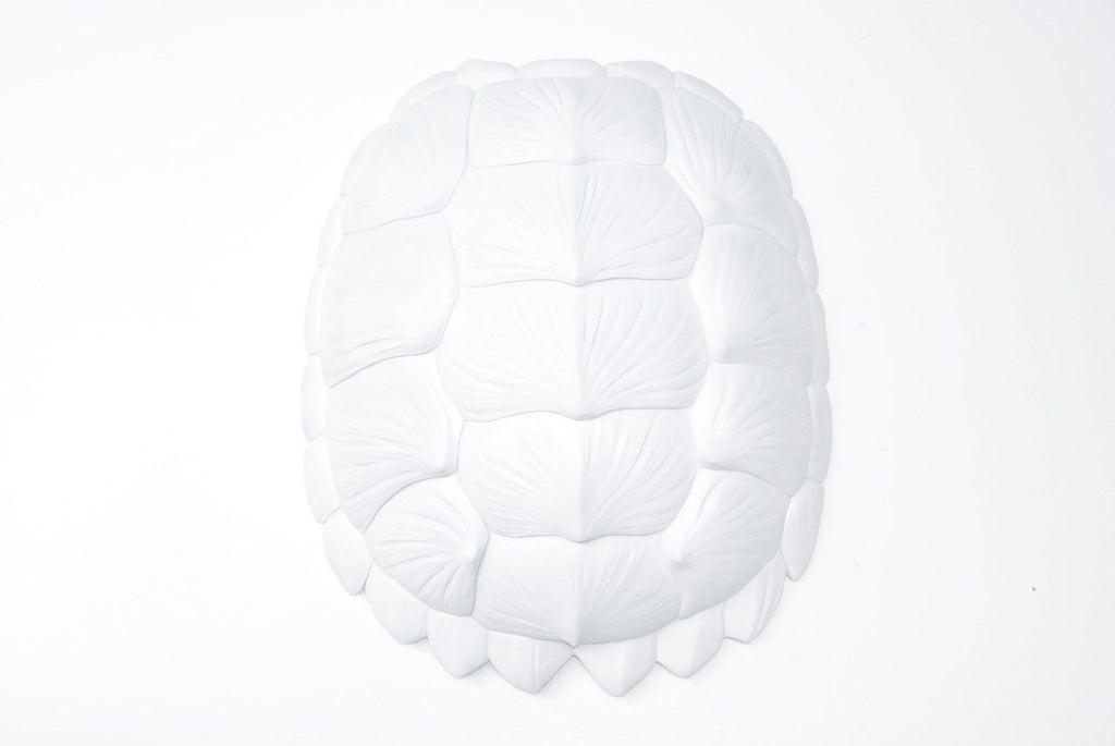 Tortoise Wall Sculpture in White  - The Project Nursery Shop - 3